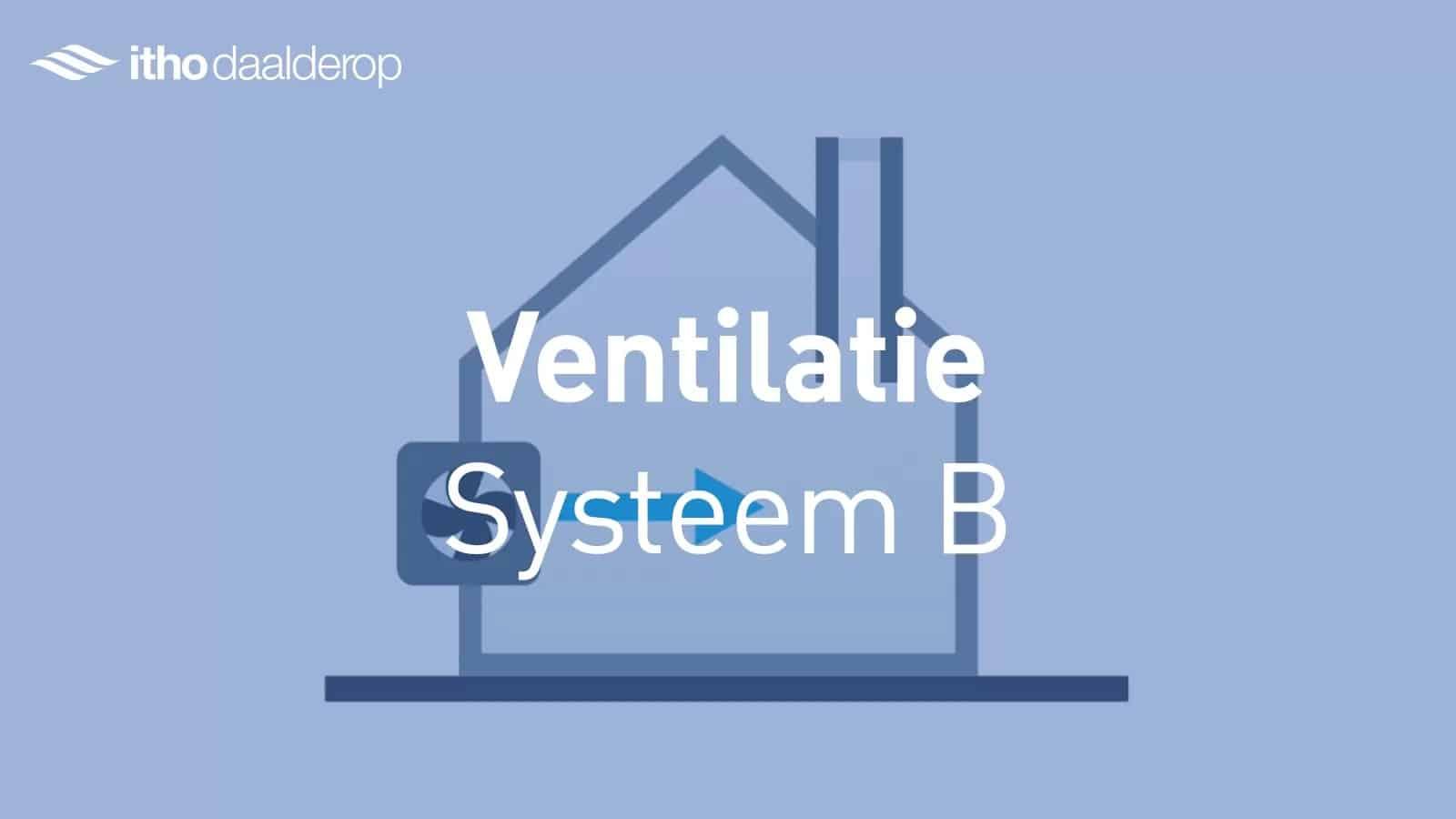 Ventilatiesysteem B